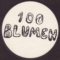 Pivní tácek 100-blumen-1-small