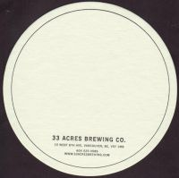 Beer coaster 33-acres-1-zadek