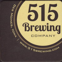 Beer coaster 515-brewing-company-1-small