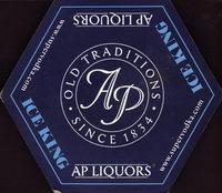Beer coaster a-ap-liquors-1-oboje-small