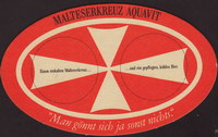 Pivní tácek a-malteserkreuz-aquavit-1-oboje-small