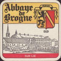 Beer coaster abbaye-de-brogne-1-small