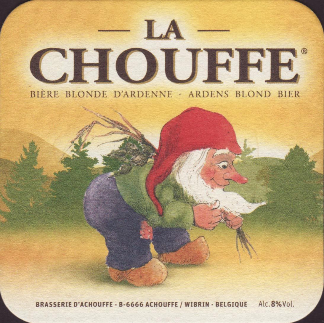 Beer coaster - Coaster number 24-4 | Brewery dAchouffe