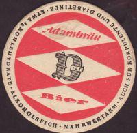 Beer coaster adambrauerei-11-zadek-small