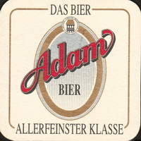 Beer coaster adambrauerei-2-oboje-small
