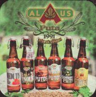 Pivní tácek alaus-bravoras-su-puta-2-small