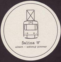 Pivní tácek albert-3-small