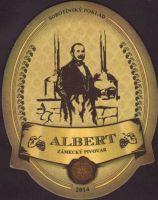 Beer coaster albert-zamecky-resort-sobotin-2-small