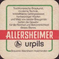 Pivní tácek allersheim-12-zadek-small