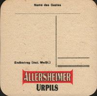 Pivní tácek allersheim-5-zadek-small