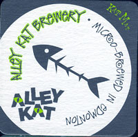 Beer coaster alley-kat-1