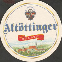 Beer coaster altottinger-hell-brau-1-oboje-small