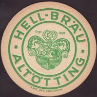 Beer coaster altottinger-hell-brau-2-oboje-small