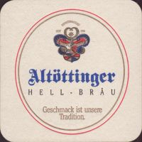 Beer coaster altottinger-hell-brau-3-oboje-small