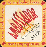 Pivní tácek ambassador-1