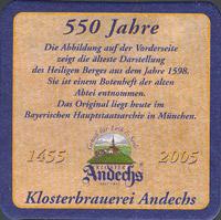 Pivní tácek andechs-4-zadek