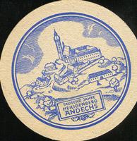 Pivní tácek andechs-6-zadek