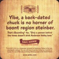 Beer coaster anderson-valley-6-zadek