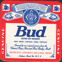 Beer coaster anheuser-busch-12