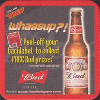 Beer coaster anheuser-busch-19