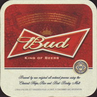 Beer coaster anheuser-busch-213-small