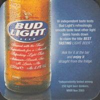 Beer coaster anheuser-busch-54-zadek