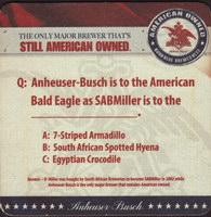 Beer coaster anheuser-busch-80-zadek