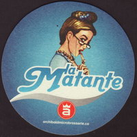 Beer coaster archibald-microbrasserie-4-oboje-small