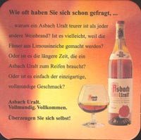 Beer coaster asbach-1-zadek