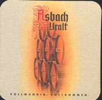 Beer coaster asbach-1