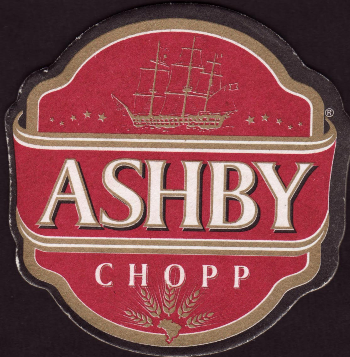 Brewery ashby amparo coaster number 2 3 for The ashby