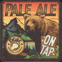 Beer coaster bear-4