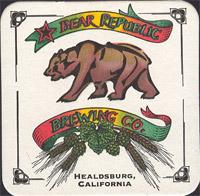Beer coaster bear-republic-1