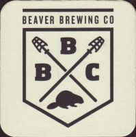 Beer coaster beaver-brewing-1-oboje-small