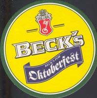 Pivní tácek beck-1