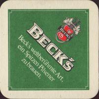 Pivní tácek beck-100-small