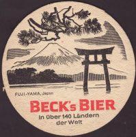 Pivní tácek beck-109-zadek-small