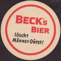 Pivní tácek beck-113-small