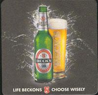 Pivní tácek beck-13-zadek