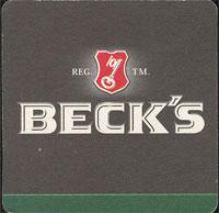 Pivní tácek beck-13