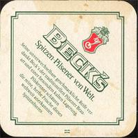 Pivní tácek beck-14-zadek