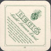 Pivní tácek beck-15-zadek