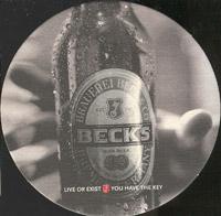 Pivní tácek beck-16-zadek