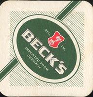 Pivní tácek beck-17-oboje