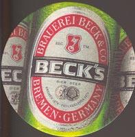Pivní tácek beck-19-oboje