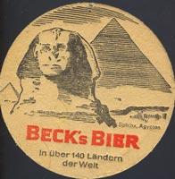 Pivní tácek beck-2-zadek