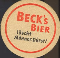 Pivní tácek beck-2