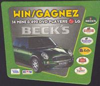 Pivní tácek beck-20
