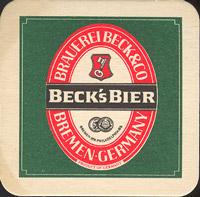Pivní tácek beck-22
