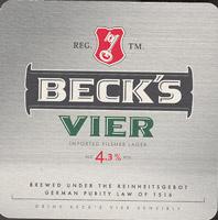 Pivní tácek beck-23